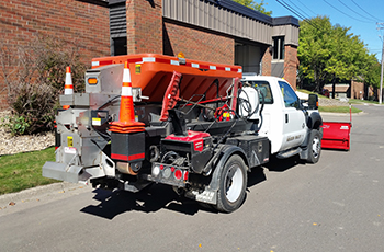 Image of snow plow truck
